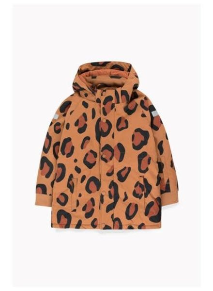 Tiny cottons ANIMAL PRINT SNOW JACKET brown/dark brow