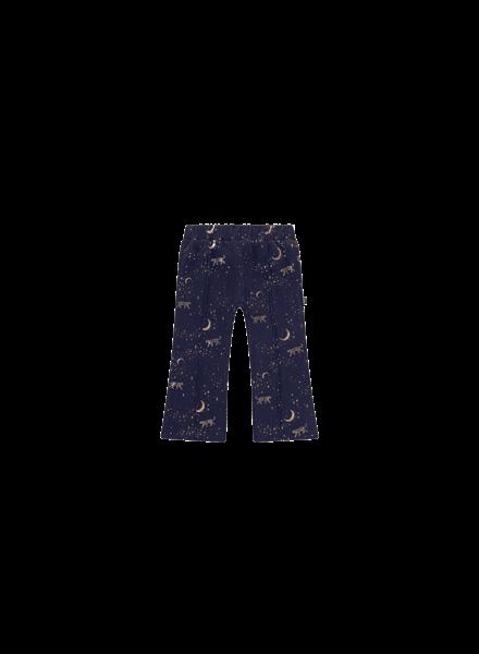 House of Jamie Flared pants blauw stargazer