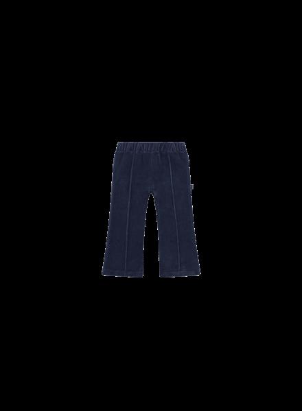 House of Jamie Flared pants midnight velvet blue
