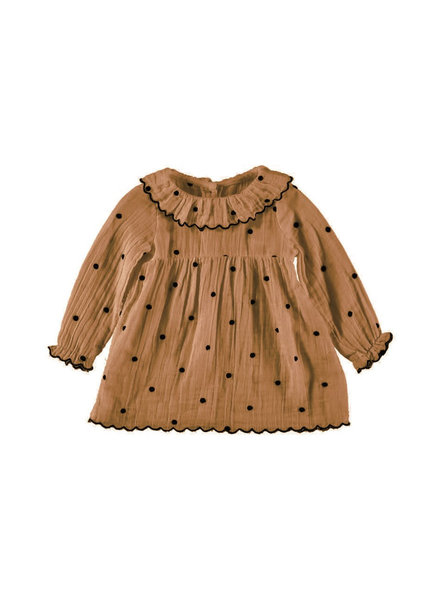 Buho Noa embroidery dress