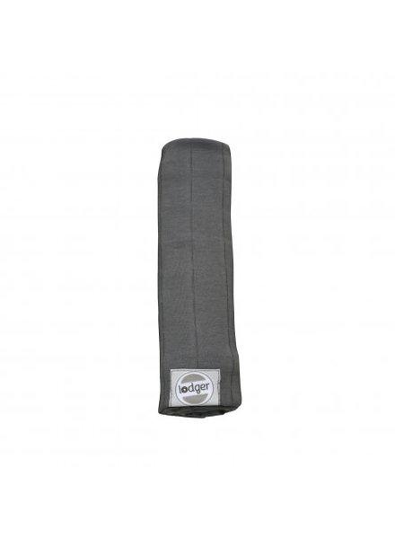 Lodger swaddler solid carbon 70 x 70cm