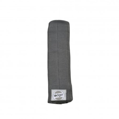 Lodger swaddler solid carbon 70 x 70cm