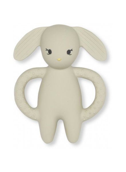 Konges slojd teeth soother rabbit clay