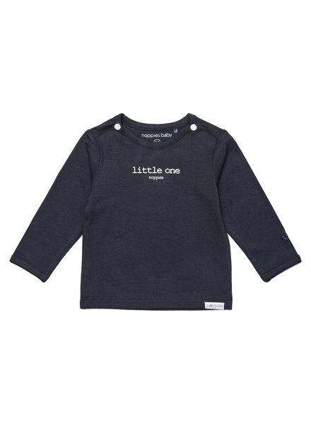noppies 67383 Tee Hester text Charcoal