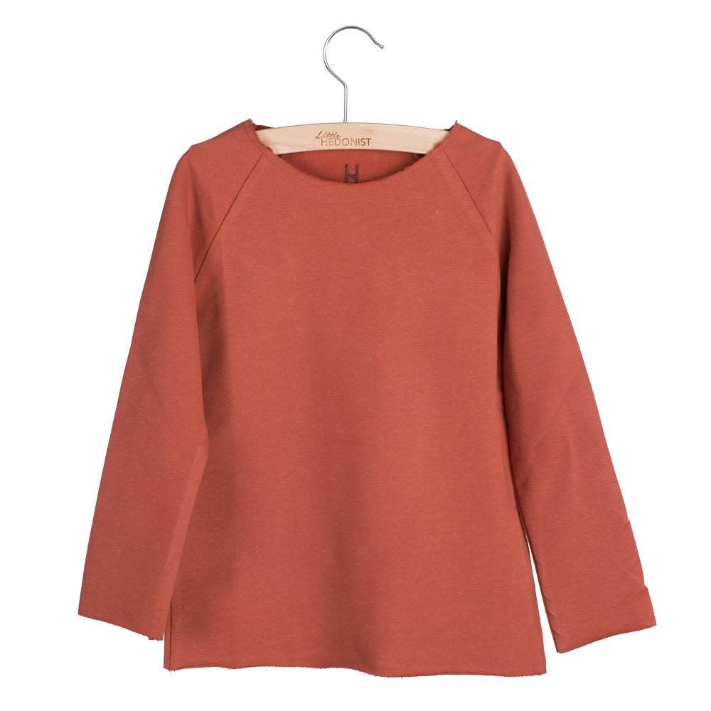 Little Hedonist Sweater Jonathan jersey chili oil