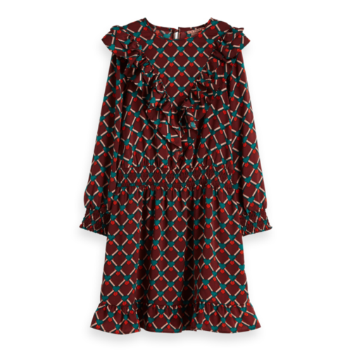 Scotch & Soda All-over printed woven dress 151839