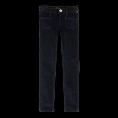 Scotch & Soda Skinny fit 5-pocket pants in rib cord quality 151799