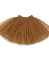 Konges slojd New ballerina skirt KS1387 Dark Honey
