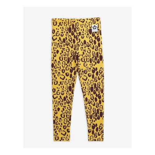 Mini rodini 2013014323 Leopard leggings - Yellow