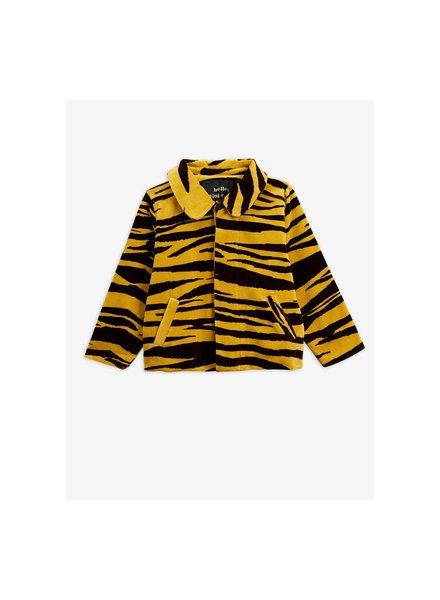 Mini rodini 2011012516 Tiger velour jacket
