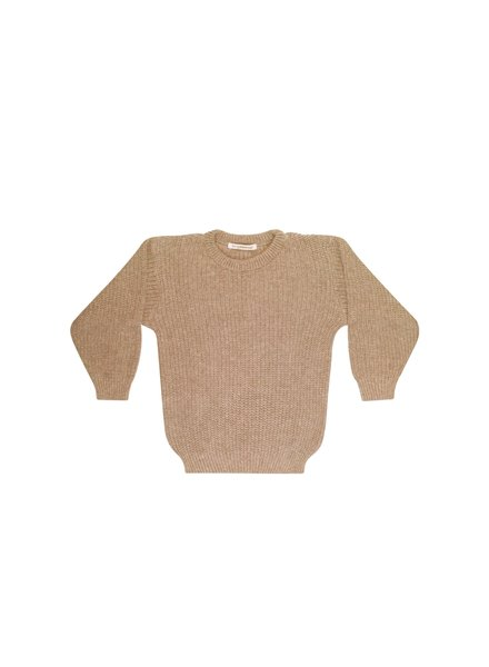 mingo Beige knit sweater adult
