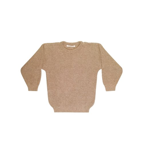 mingo Beige knit sweater adult