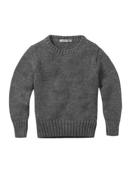 mingo Grey knit sweater adult