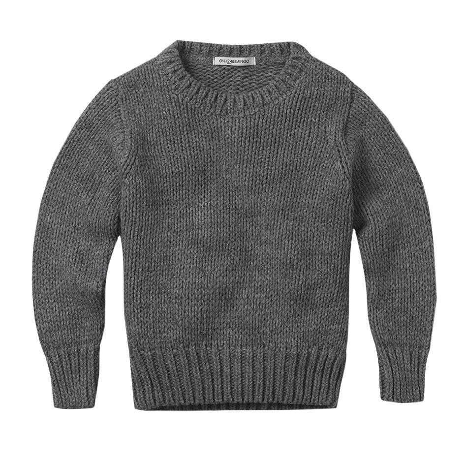 mingo Grey knit sweater adult