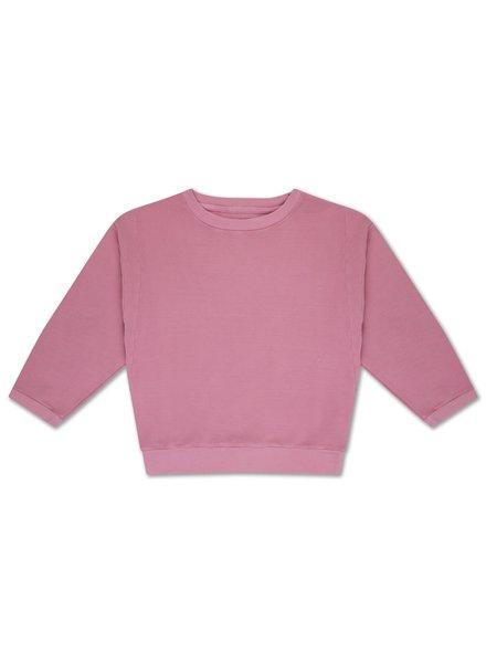 repose crewneck sweater rose pink