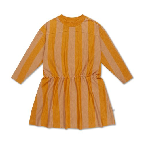 repose skater dress  GOLDEN BLOCK STRIPE