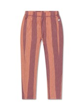 repose tricot pants PEACHY BLOCK STRIPE