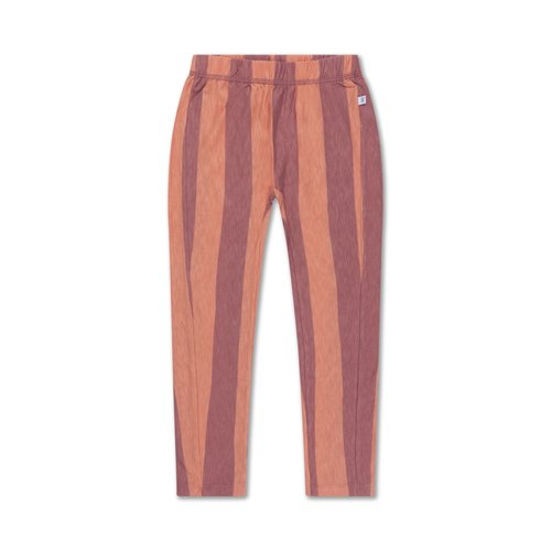 repose tricot pants PEACHY BLOCK STRIPE