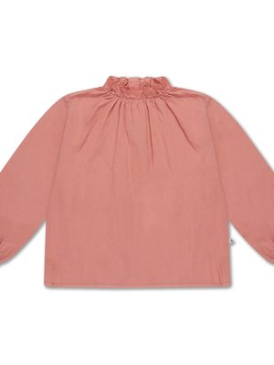 repose ruffle blouse POWDER PEACHY