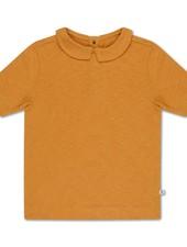 repose t shirt with collar sun gold