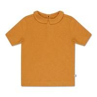 t shirt with collar sun gold