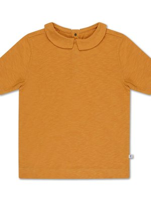 repose t shirt with collar sun gold