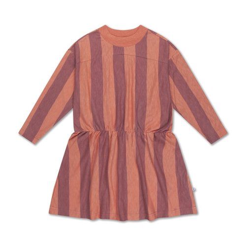 repose skater dress PEACHY BLOCK STRIPE