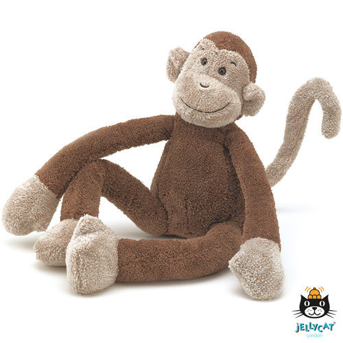 jellycat Slackajack Monkey Small 33cm