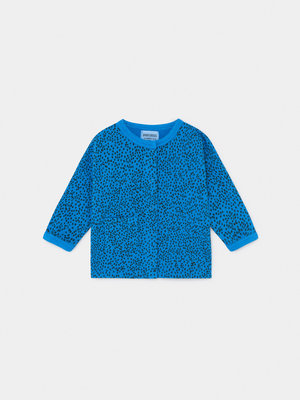 Bobo choses All over leopard buttoned sweatshirt