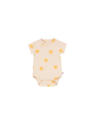 "Tiny cottons ""SUN"" BODY light cream/yellow"