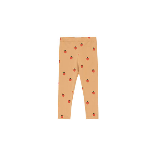 """Tiny cottons """"STRAWBERRIES"""" PANT toffee/red"""