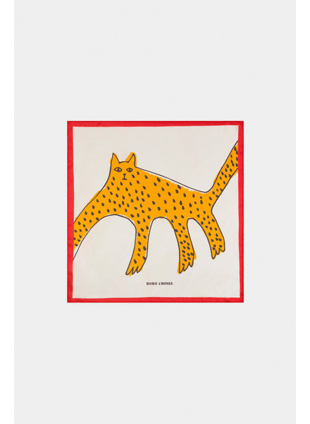 Bobo choses Leopard square scarf