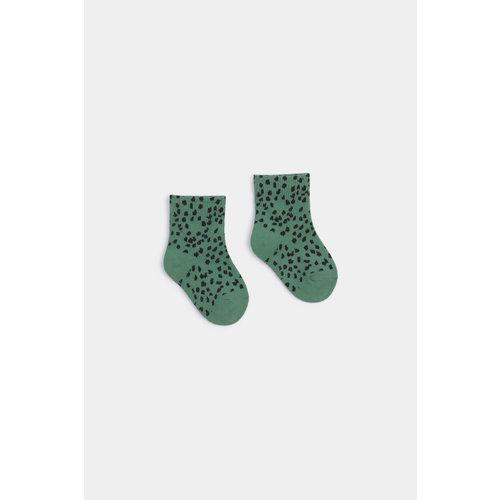 Bobo choses All over leopard short socks
