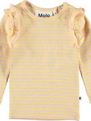 Molo Emma Longsleeve Powder acacia stripe