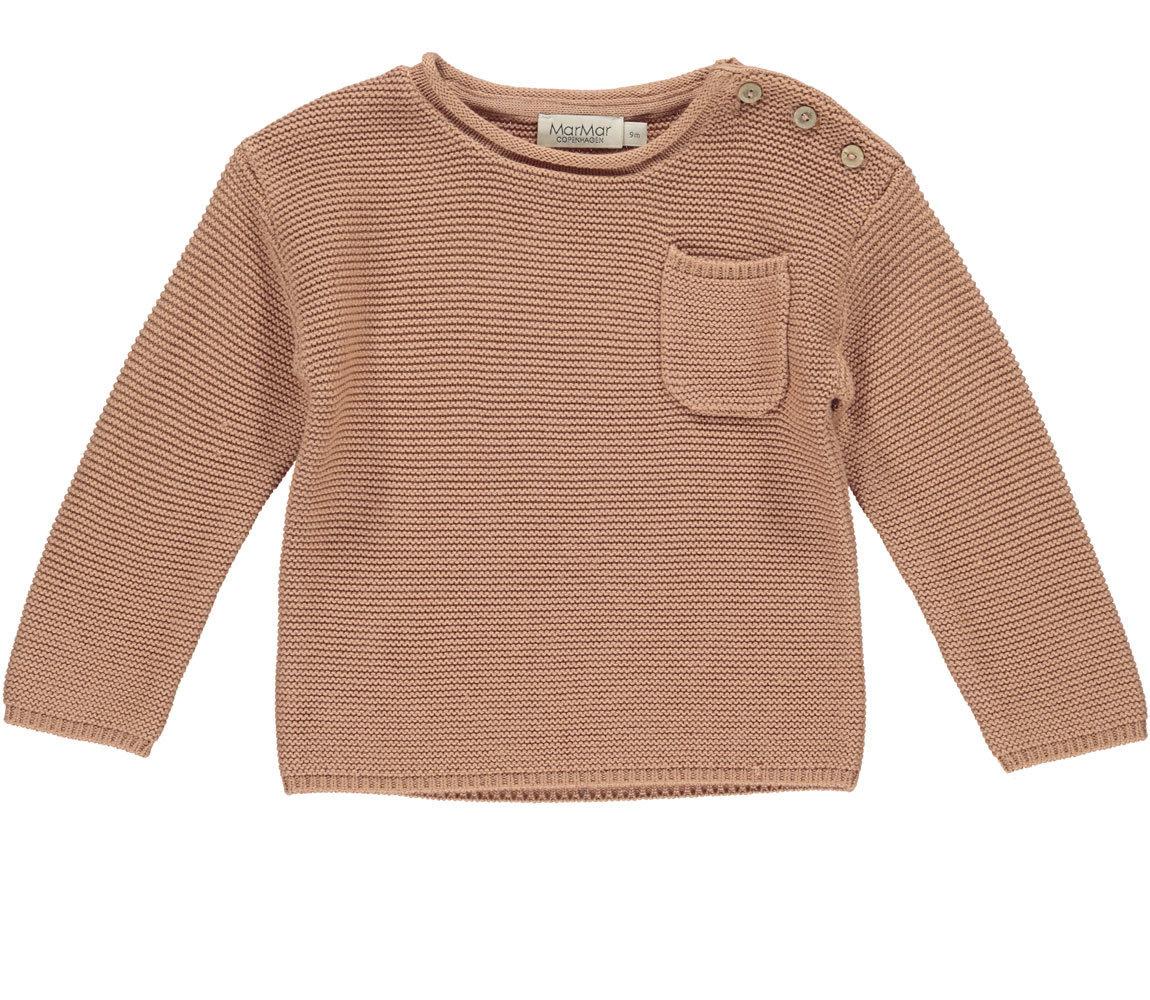 MarMAr CPH Tade rose stone knit sweater