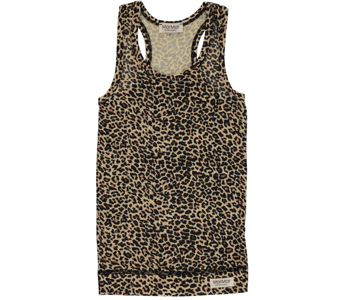 MarMAr CPH Leo Tank Leopard brown