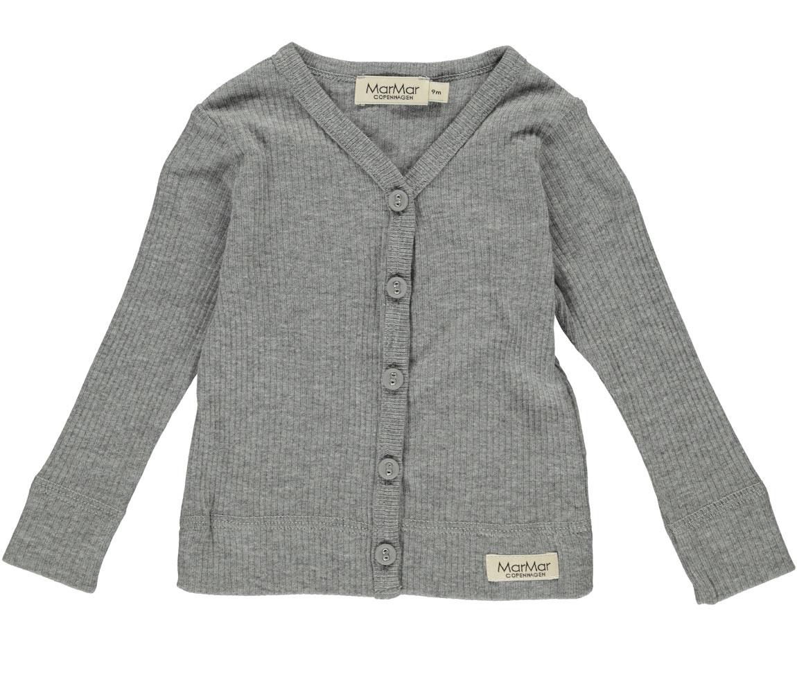 MarMAr CPH Cardigan LS Modal grey melange
