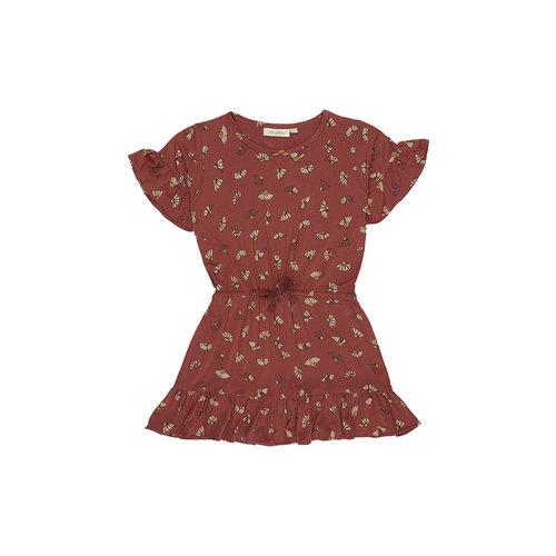 Soft Gallery Danica Dress Burnt Brick, Camomile