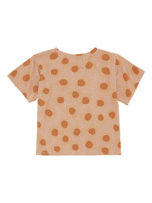 Soft Gallery Dominique T-shirt Peach Bloom