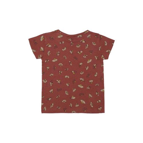 Soft Gallery Pilou T-shirt Burnt Brick