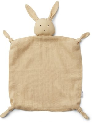 Liewood Agnete cuddle cloth rabbit smoothie yellow