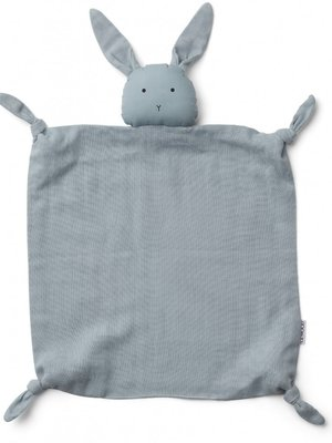 Liewood Agnete cuddle cloth rabbit seablue