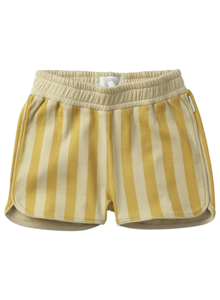 Sproet&Sprout Sport shorts stripe Mellow Yellow