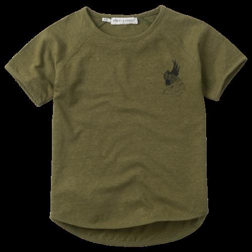 Sproet&Sprout T-shirt raglan Cockatoo