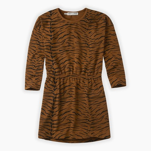 Sproet&Sprout Dress print Tiger