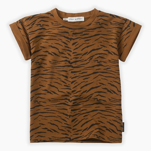 Sproet&Sprout T-shirt print Tiger