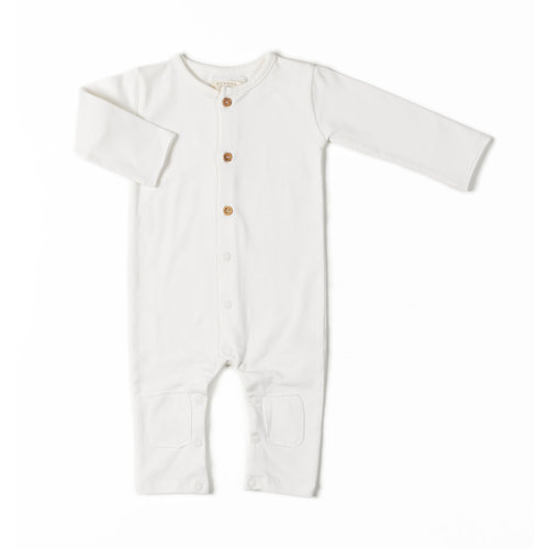 Nixnut Butt Onesie - Off White