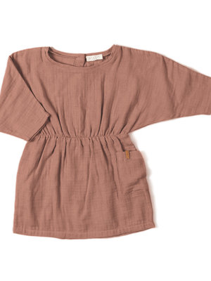 Nixnut Flair Dress Lychee