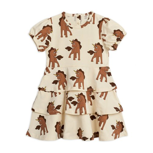 Mini rodini Unicorns aop ss dress