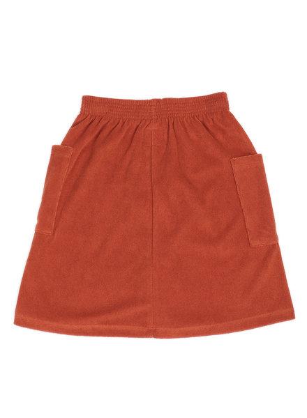 CarlijnQ long skirt (cinnamon)